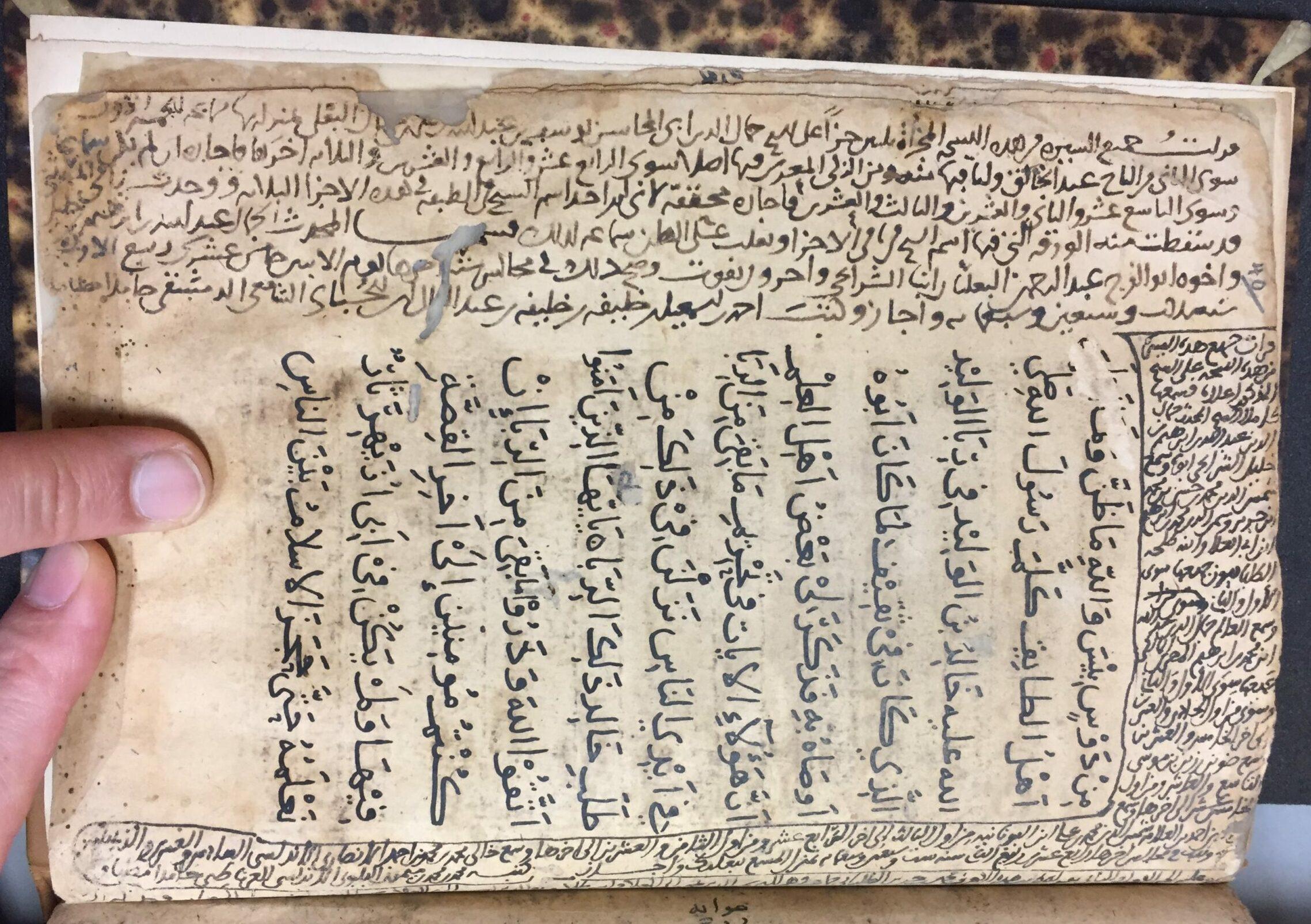 Die Biographie einer Berliner Handschrift: Sprenger 96 b