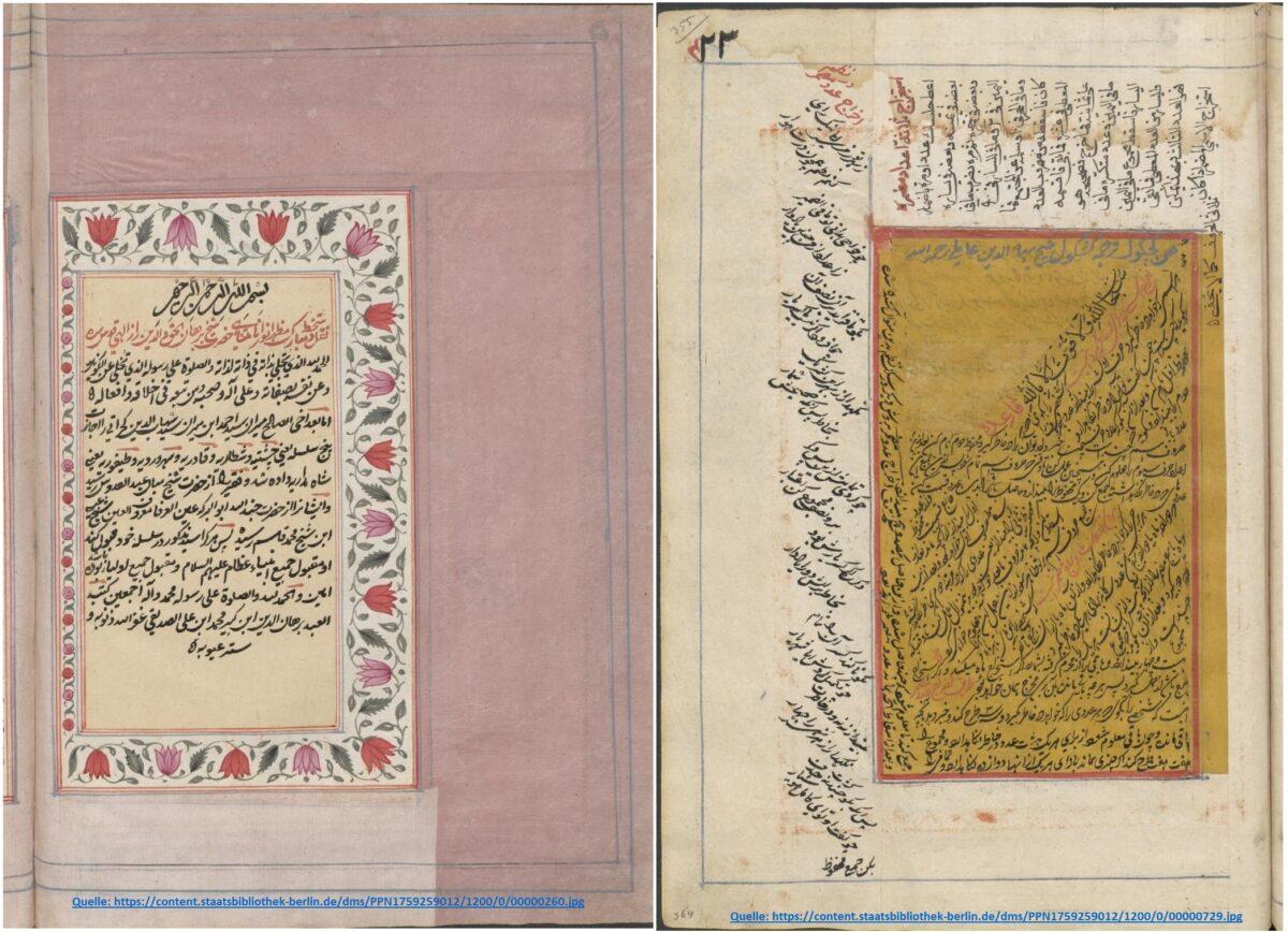 """Das Produkt von 50 Jahren Arbeit: das Werk """"Safīnat al-baḥr al-muḥīṭ"""""""