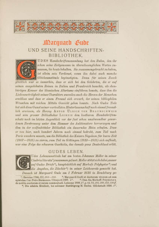 Die sammelnden Herzöge: Die arabischschriftlichen Handschriften der Herzog-August-Bibliothek Wolfenbüttel
